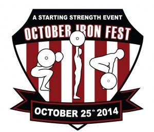 October Iron Fest Logo