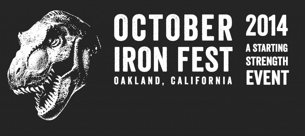 Oakland October Iron Fest Logo